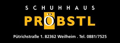 Schuhhaus Pröbstl – Schuhgeschäft in Weilheim